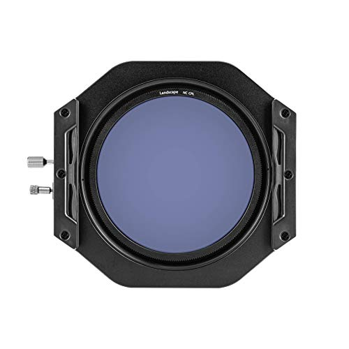 NiSi V6 - Kit de Soporte para Filtro de Sistema con Filtro polarizador Circular Mejorado para Paisaje (100 mm)