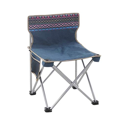 JIEER-C Ergonomische tuinstoel AGLZWY campingstoelen, opvouwbaar, licht, draagbaar, festival, visserij, tuin, reis buiten, zitting, strand, met transporttas (kleur: A, Ta 37.5X37.5X57CM Aglzwx5439r7