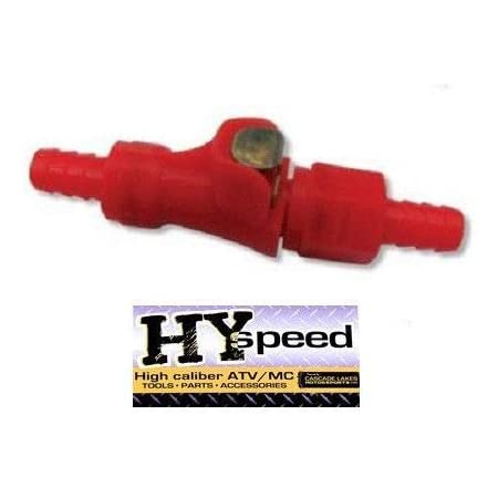 """HYSpeed 3//8/"""" Gas Fuel Line Quick Release Disconnect Coupling Motorcycle ATV"""
