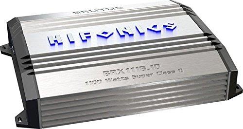 Hifonics brx1116.1d Brutus Mono Super d-class Subwoofer Verstärker, 1100-watt