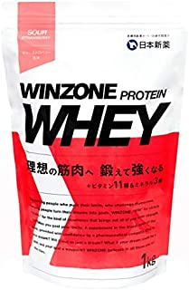 WINZONE PROTEIN WHEY(ウィンゾーン プロテイン ホエイ) (サワーストロベリー, 1kg)