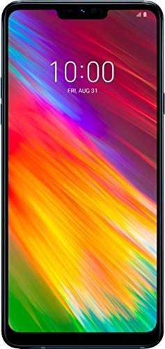 LG G7 Fit 32GB 6.1' Smartphone - GSM+CDMA Factory Unlocked for All Carriers - Aurora Black (US Warranty) by LG