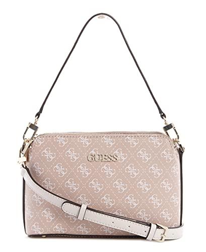 Guess Washington Double Zip Crossbody Bag Rose Multi