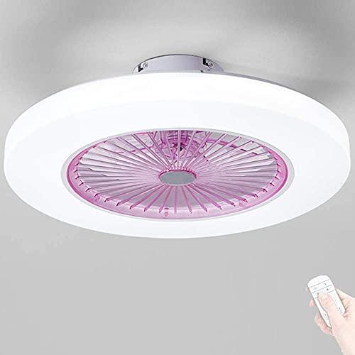 Ventiladores de techo con lámparas, ventilador tranquilo Iluminación Luz de techo LED Ventilador de techo Control remoto Ventilador regulable Ventilador de techo Fans Fan Lámpara de techo Iluminación