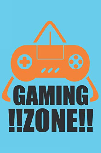 Gaming Zone: Journal Notebook 6x9 inch,100 Page Gift for :young girl friend ghost boys student dad daughter teacher grandma kids sister parents teen ... husband girlfriend And for everyone you love