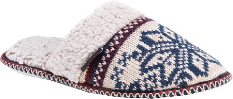 MUK LUKS Women's Fair Isle Knit Slipper