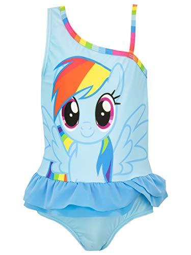 Mein Kleines Pony Mädchen My Little Pony Badeanzug Blau 128