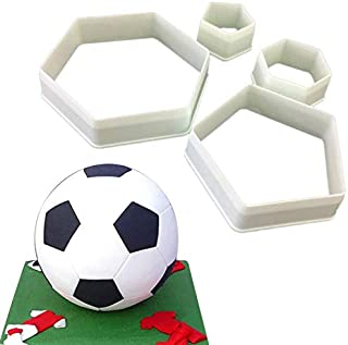 Best Quality - Cake Molds - cake tools diy cake decoration fondant mold football cookie cutter hexagon cutters kitchen appliances - by Stephanie - 1 PCs