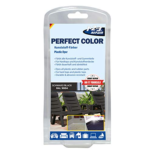 vernice pittura per plastica e gomma pelle e skai plastica dura o morbida NERO
