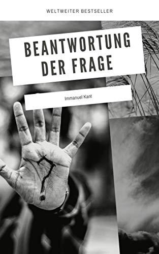 Beantwortung der Frage (illustrated) (German Edition)