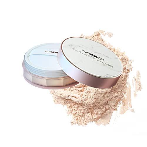 Cipria in Polvere Sciolta Setosa, Polvere Libera Dal Finish Luminoso, Formula Leggera, Effetto Soft Focus, Loose Powder Opaca, Colore Naturale, 8 g