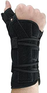 dorsal wrist splint with universal cuff