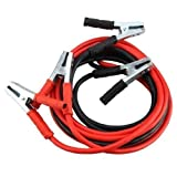 Dobo® - Cables con pinzas para conectar a batería de arranque de 2000A, para coches, furgonetas, camiones y motos