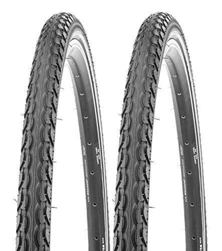 """P4B   Komplettes 29 Zoll Reifen - Set = 2x 52-622 ( 29"""" x 2,10 ) Reifen mit 5mm Pannenschutzeinlage K-Shield Plus   2X Schläuche 28""""/29"""" SV 48mm   formgeheizter Fahrradschlauch"""