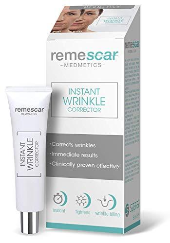 Remescar - Correttore Rughe Istantaneo - Clinicamente testato per anti-età e riduzione delle rughe - Crema antirughe donna - Riduce i segni dell'età - Risultati istantanei