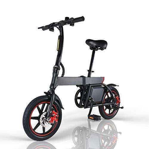 Windway Bicicleta Eléctrica Plegable 14 Pulgadas 36V 350W 25km/h