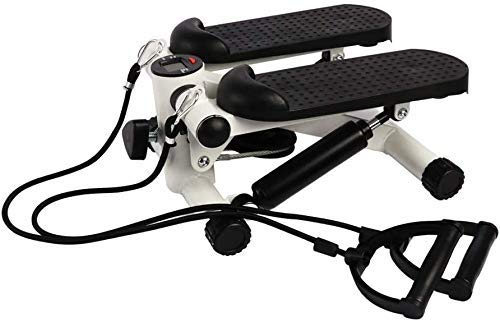 Best Goods Up-Down Stepper Mini Fitness Machine with Home Fitness Training Swing Stepper (Black)