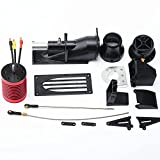 GoolRC RC Boat Thruster Jet Pump Set Propeller Pusher Spray Water Thruster with F540 3650 3000KV Brushless Motor for 1/10 1/8 RC Boat
