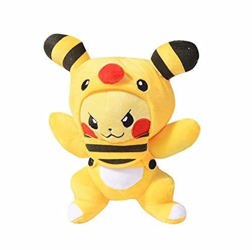 Dibujos Animados Anime Pokemon Pikachu Series 20Cm Pikachu Cos Disfrazado Alpharos Pikachu Muñeco De Peluche Almohada Niños Cumpleaños