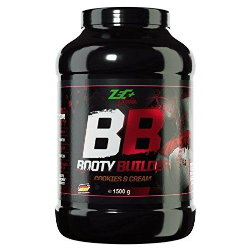 Zec+ Nutrition ZEC+ LADIES Booty Builder - Protein-Drink für Frauen mit Aminosäuren, Creatin & Kohlenhydraten, Geschmack Cookies & Cream, 1500 g