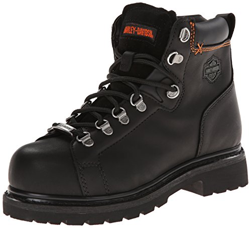 Harley-Davidson Women's Gabby St Work Boot, Black, 8.5 M US