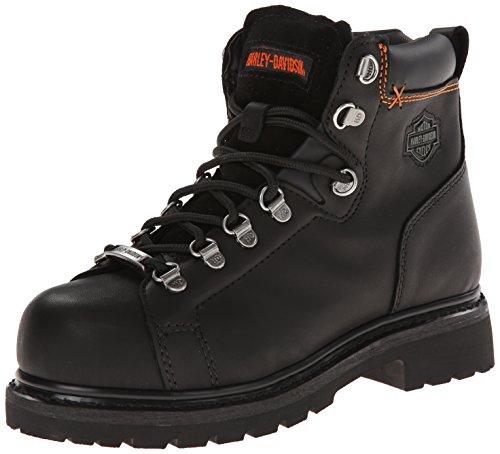 Harley-Davidson Women's Gabby Steel Toe Work Boot,Black,6.5 M US