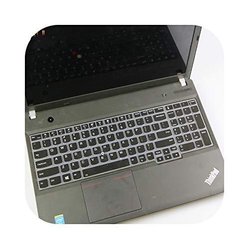 Keyboard Cover Schutzhülle für Lenovo Thinkpad E15 E580 E585 E590 E595 T570 T580 L580 Thinkpad P52 P52S P72 P53 P73 Silikon Schwarz