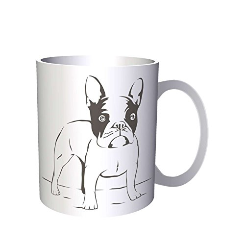 Bulldog francés Dog Lovers Novedad 330 ml taza p12