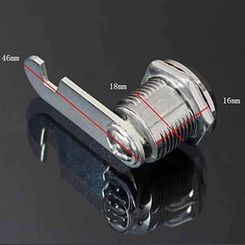 DANDANdianzi Tür-Kabinett-Schrank Kommode Workbox Toolbox Schublade Locker Strongbox Brief Game Box Key Drehen Cam Schließzylinder
