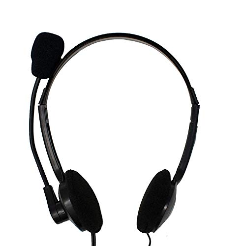 Over Headphones with Mic (3.5mm ...