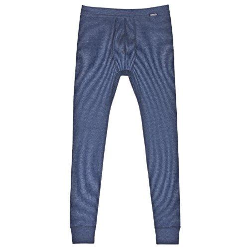AMMANN ISCO lange Hose, Unterhose mit Eingriff, dunkelblau, Gr. 5/M