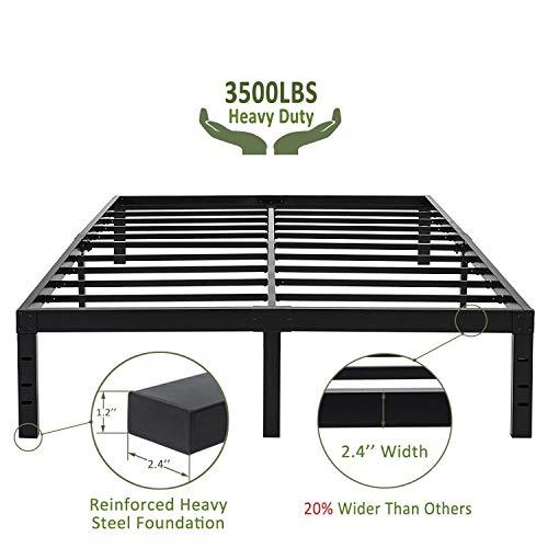45MinST 18 Inch Maximum Storage Bed Frame