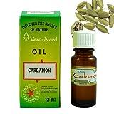 Ätherische Öl, Bio 100% Naturrein, Reines, über 200 Düfte, Kapazität 12, Aromatherapie, Duftöl, Aroma Öl, Essential Oil für Duftkamine, Duftlampen und Diffuser Luftbefeuchter (Kardamom)