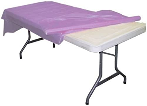 Exquisite Lavender Plastic Table Roll by