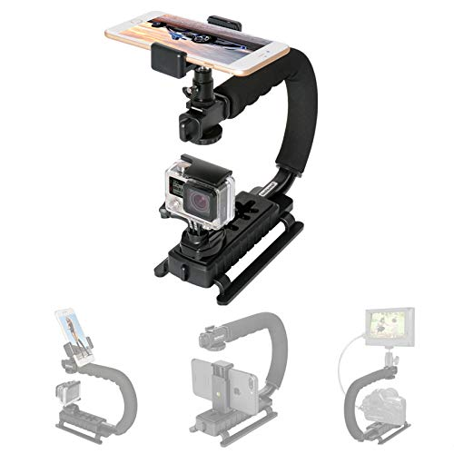 Fantaseal 4in1 DSLR/ Mirrorless /Action Camera +Camcorder +Smartphone Stabilizer Holder We-media...