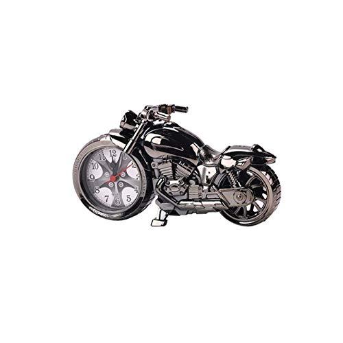 TYLJ MyBHD Modelo de Motocicleta de Lujo Retro de Cuarzo de Cuarzo de Estilo Retro, for los Amantes de la Motocicleta Reloj de Pared (Color : 2)
