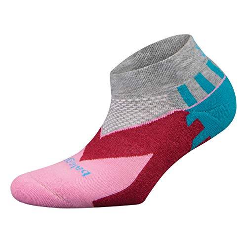 Balega Unisex-Erwachsene Enduro V-tech Low Socken, grau/pink, Medium