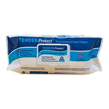 TENDERProtect® Adult Wipes with Aloe 9x12 for Incontinence  600/Cs