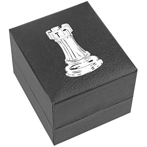 Azeeda 'Turm Schachfigur' Verlobungsringbox (RB00014532)