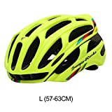Faviye - Casco de bicicleta de carretera, ultraligero y cómodo, para bicicleta de montaña, color f, tamaño L