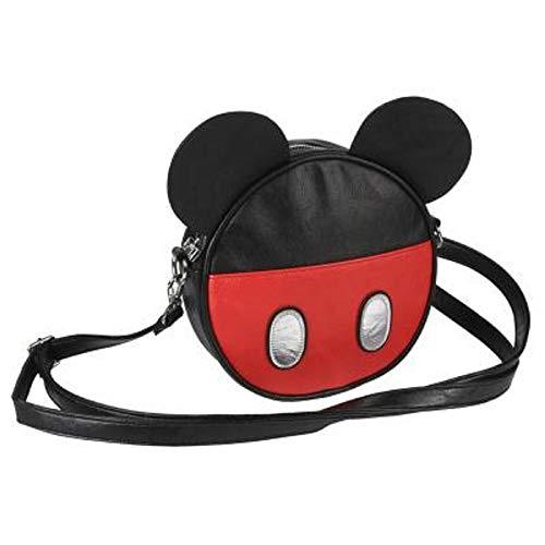 Disney-geschenke Für Mädchen | Runde Tasche Mit Klassischen Figuren Wie Mickey, Dem Kätzchen Marie Der Aristocats, Der Donald Duck Und Den 101 Dalmatinern (Mickey)