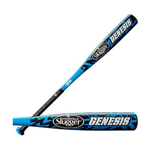 Louisville Genesis Aluminum Youth Baseball Bat - Black/Blue - 28/18 (29)