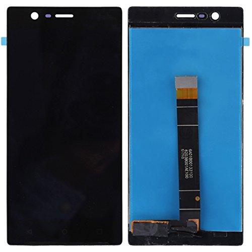 YANGJ Pantalla LCD + Panel táctil for Nokia 3 TA-1020 TA-1028 TA-1032 TA-1038 (Negro) (Color : Black)