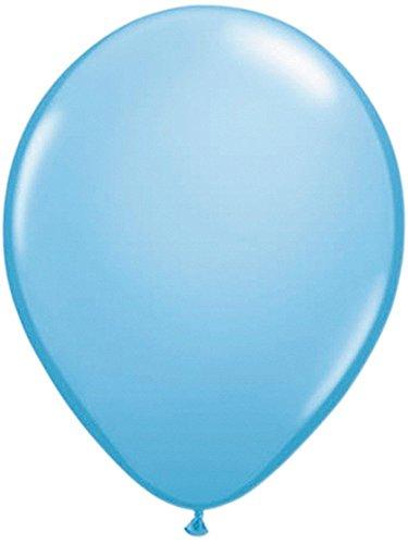 Folat 08174 Hellblaue Ballons, 30cm, Blau, 10 Stücke