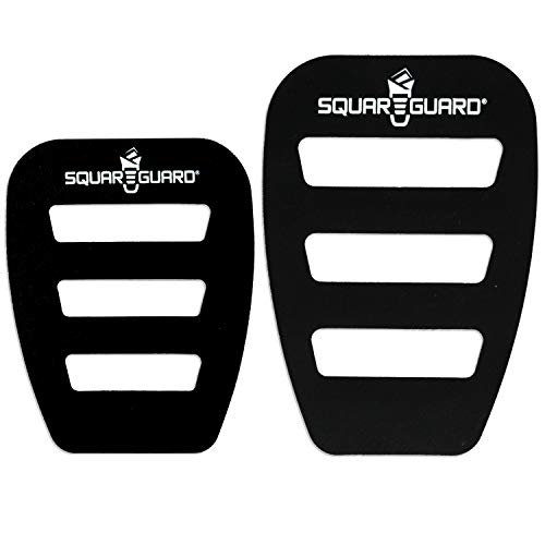 SquareGuard Pocket Square Holder (Variety 2-Pack) For Men, Best Pocket Square Organizer