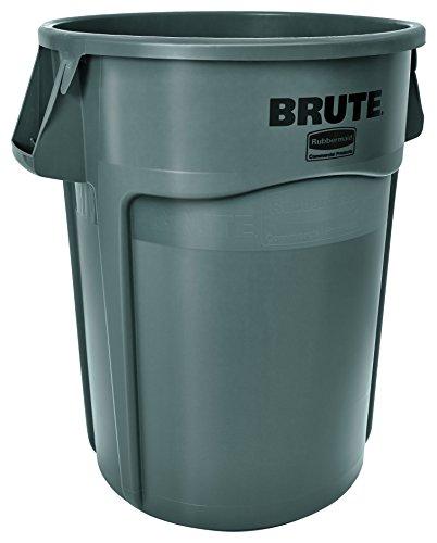 RCP264360GRA - Rubbermaid Brute 44-Gallon Utility Container, Gray