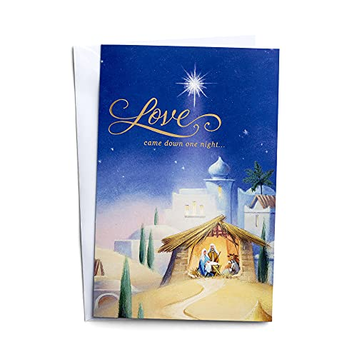 DaySpring Love Came Down One Night - 50 Christmas Boxed Cards, KJV