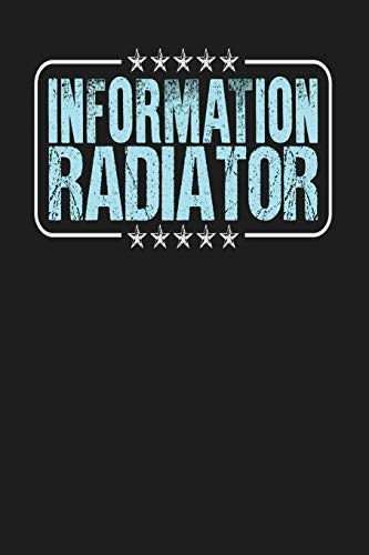 Information Radiator: Dark Gray, Light Blue Design, Blank College Ruled Line Paper Journal Notebook for Project Managers and Their Families. (Agile ... Book: Journal Diary For Writing and Notes)