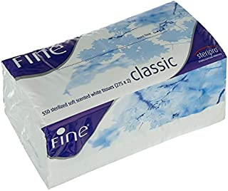 Fine Classic Sterilized Soft Scented White Tissues,550 Sheets (275 X 2 Ply)
