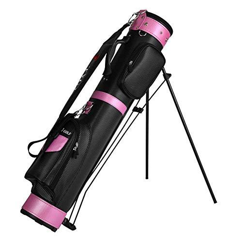 ZXL Golf-Reisetasche Unisex PU Golf-Tasche wasserdichte Golf-Waffentasche Regensichere Golf-Reisetasche für Männer und Frauen Kann platziert Werden 9 Clubs Golf Constrictor (Farbe: Blau, Größe: